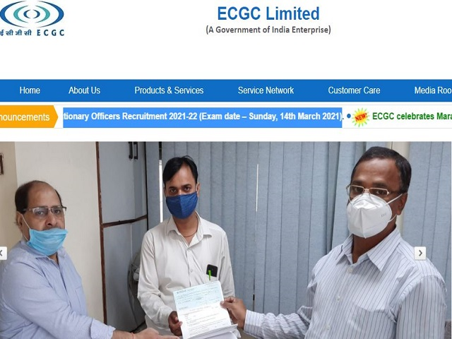 ECGC PO Result 2021 Out @ecgc.in, Download Probationary Officer Selection List for Interview