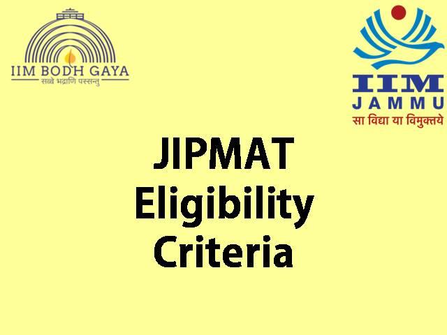 jipmat 2021 eligibility