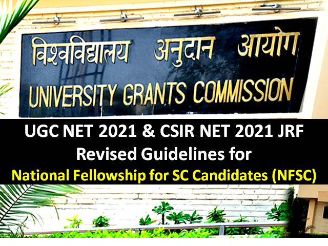UGC Revised NET JRF Selection Procedure for Schedule Caste Students