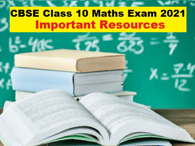 class10 maths resources for board exam 2021
