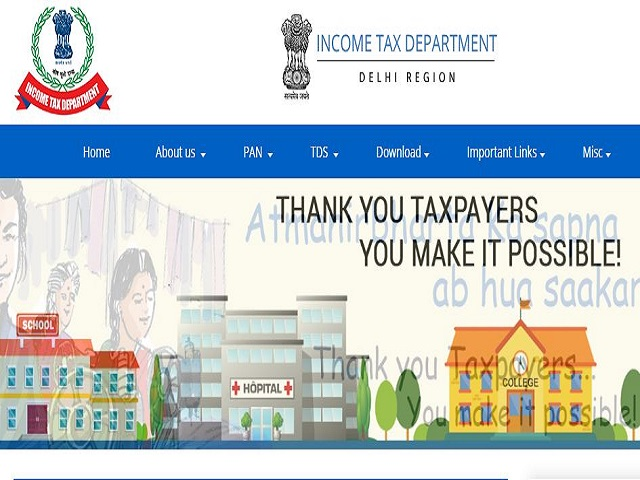 Income Tax Department Delhi Recruitment 2021 for Steno, MTS, Income Tax Inspector & Tax Assistant Posts