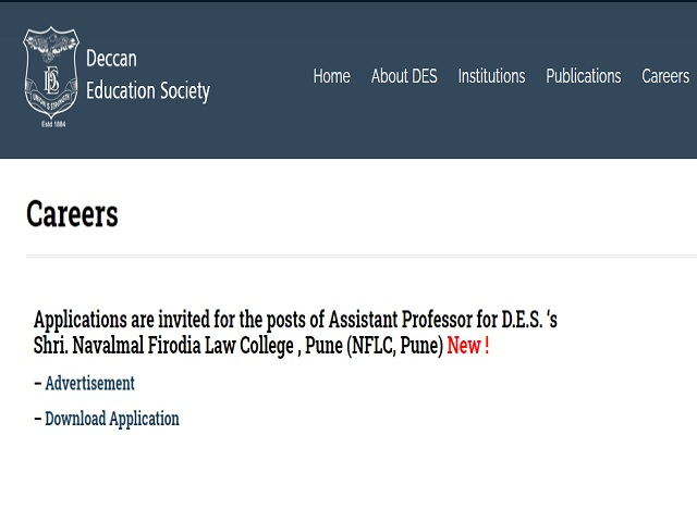 Apply 12 Assistant Professor Posts before 27 May