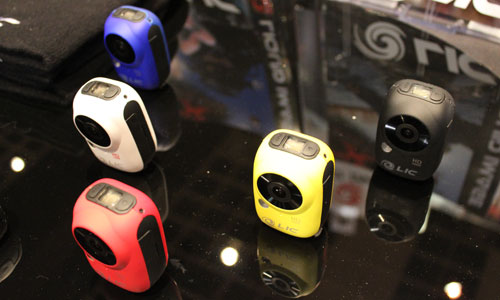 Liquid Image Ego wearable camera color varieties