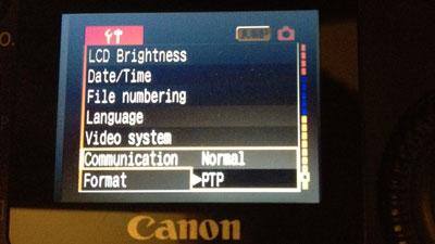 Canon Windows 7 PTP mode driver alternative