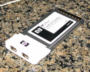PCMCIA FireWire Card