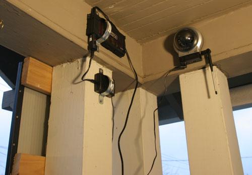 Wireless Solar Powered Security Camera