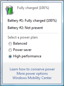 Windows Power Management Settings