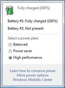 Windows Power Management Settings