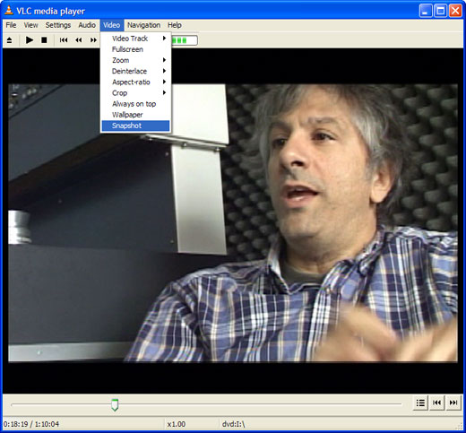 Extract a Still Image from DVD Video