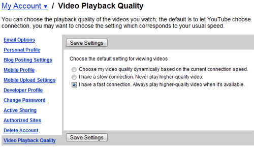 Better YouTube Video Quality