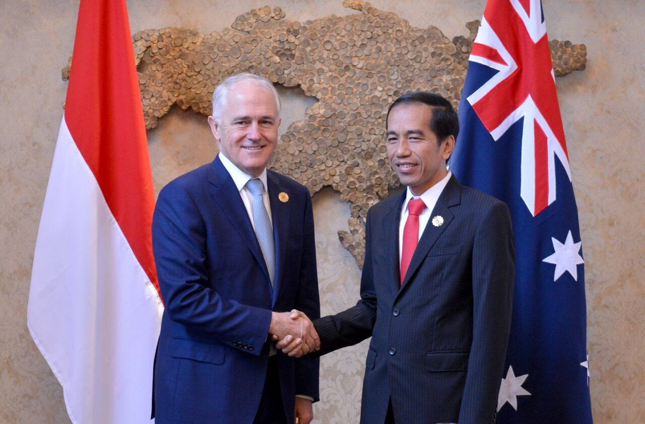 Image result for Jokowi-Turnbull