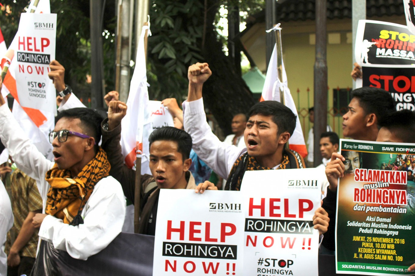 Rohingya and responsibility