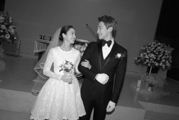 Image result for kim tae hee rain wedding