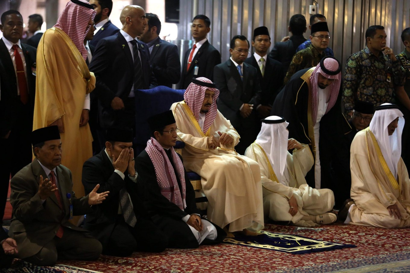 COMMENTARY: The elephant in the room in Saudi king's visit