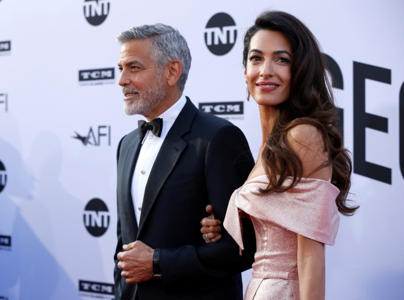 George and Amal Clooney on justice mission for women and gay