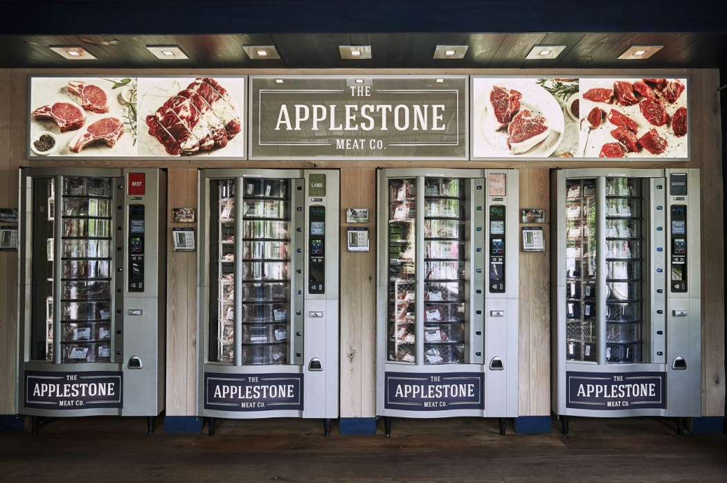 Image result for This Vending Machine Allows You to Get a Big steak out of vending machine