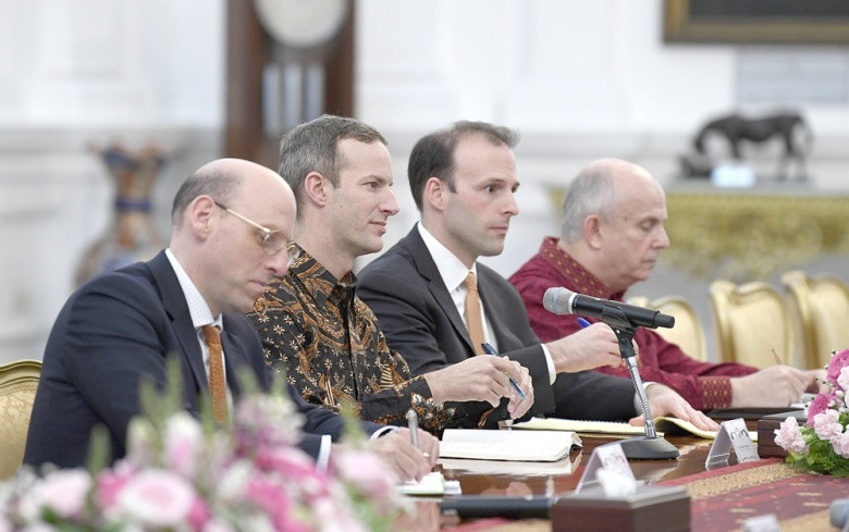 US institutions in talks on development investment in Indonesia
