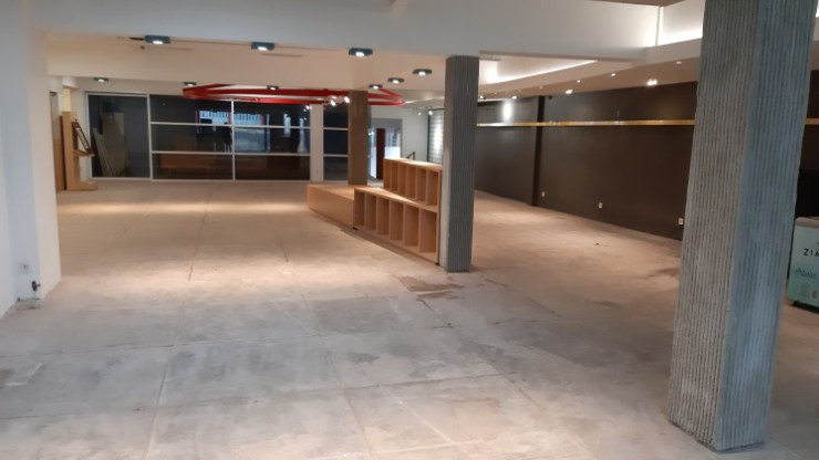 The area where Aksara inhibited for 20 years sits empty for now, awaiting further renovation from building owners 3000 Group, who will maintain this space as a lively, community space going forward.