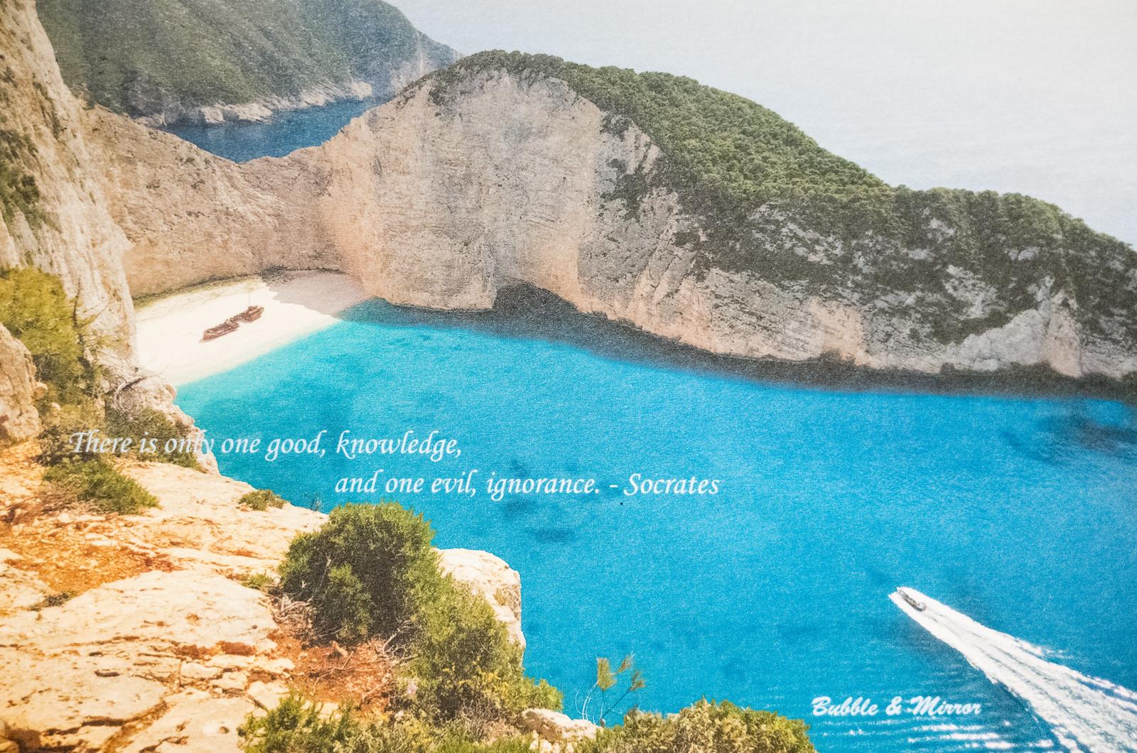 泡泡的希臘明信片