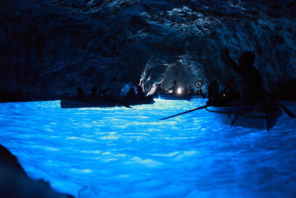義大利自助旅行 Day 6(沒看過藍洞,別說你來過義大利~ 哈哈哈~)