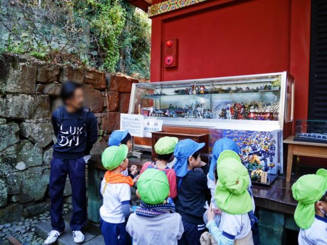 靜岡以模型聞名,剛好遇到小朋友來參訪呢~