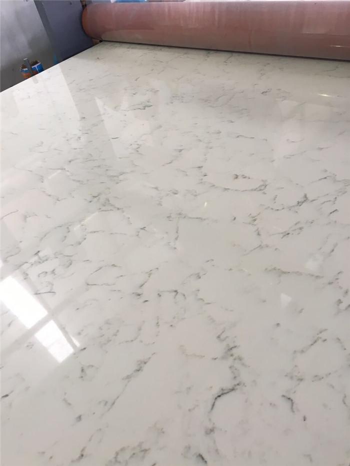 Carrara White Quartz Countertop Engineered Quartz