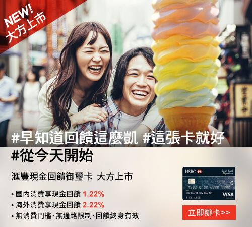 匯豐信用卡優惠方案