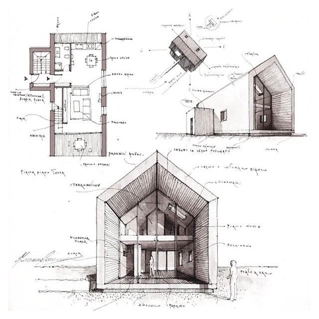 027建築設計師手稿作品