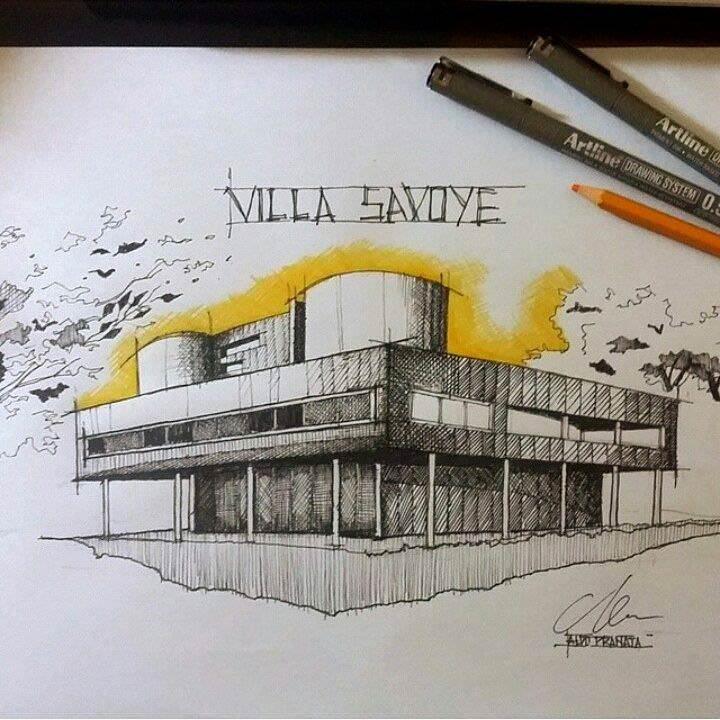 071建築設計師手稿作品