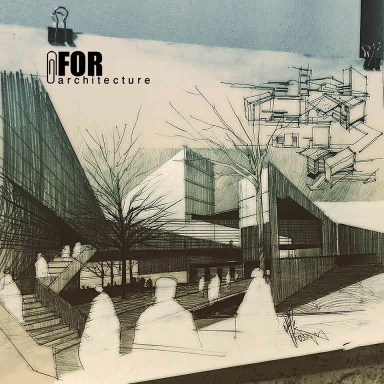 112建築設計師手稿作品