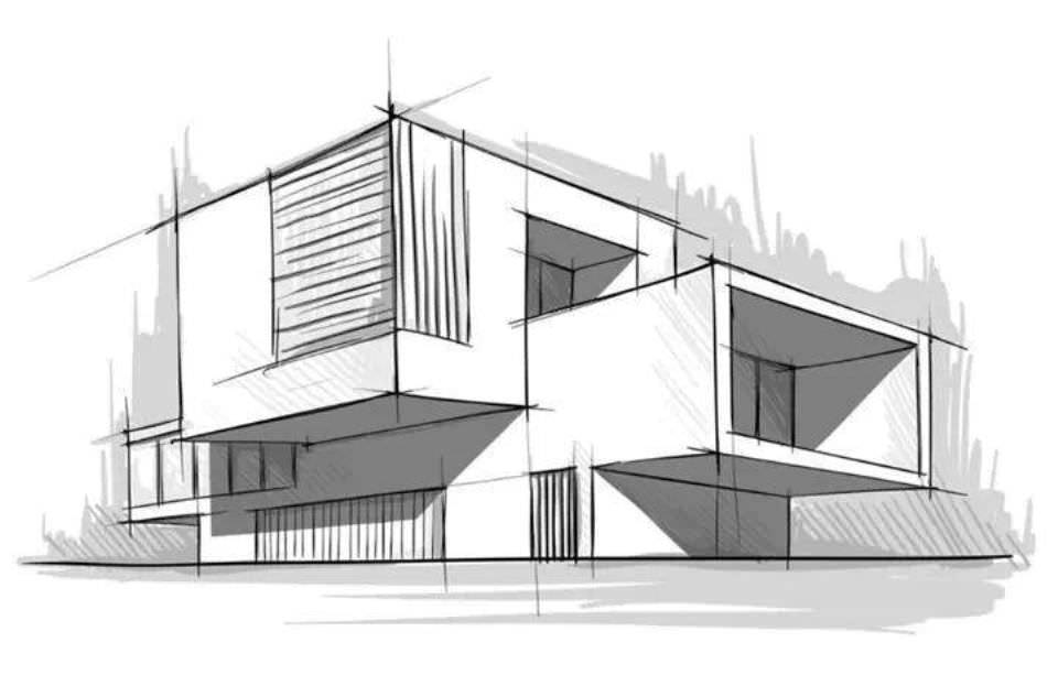 200建築設計師手稿作品