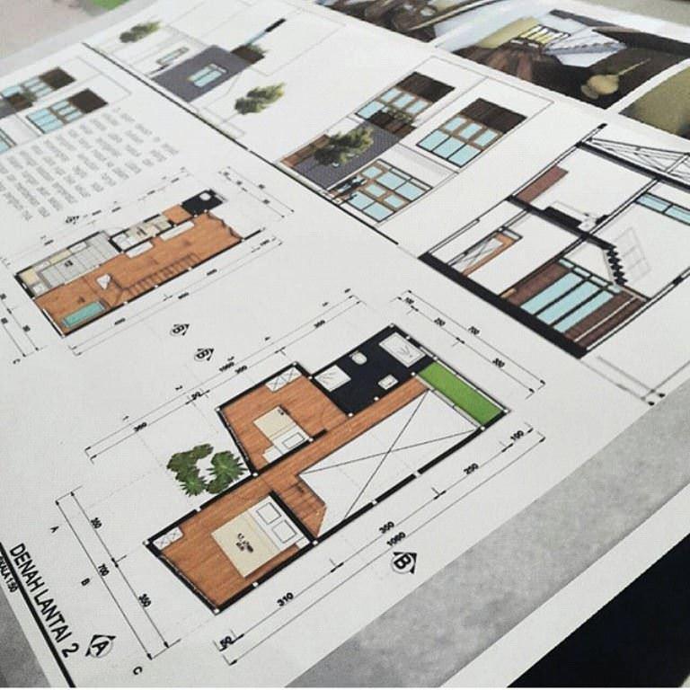 229建築設計師手稿作品