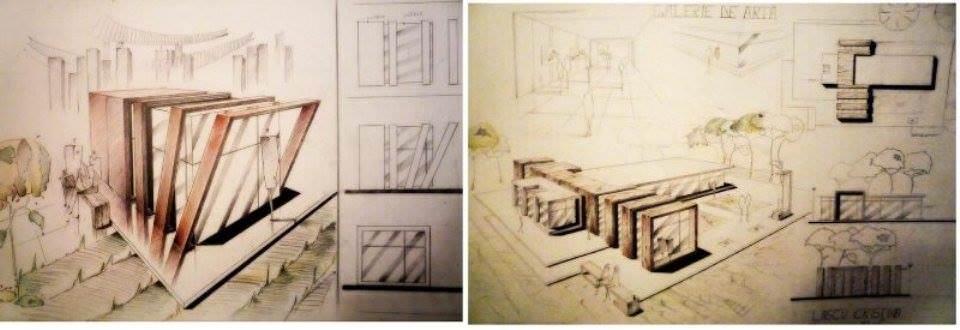 238建築設計師手稿作品
