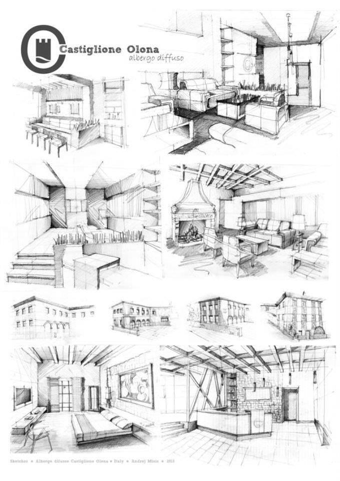 416建築設計師手稿作品