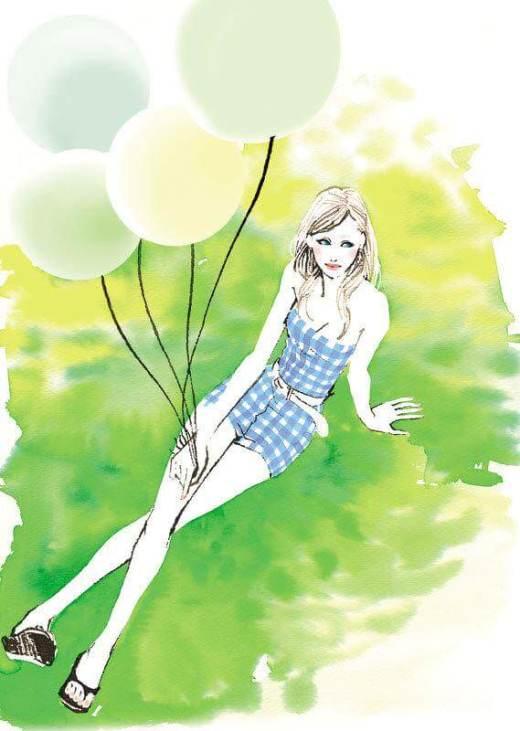 balloons插畫