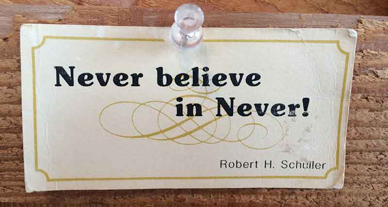 Never-Believe
