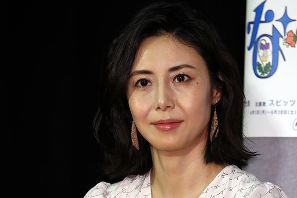 松嶋菜々子が来年女優休業へ「長女の英国留学に同伴」で決断