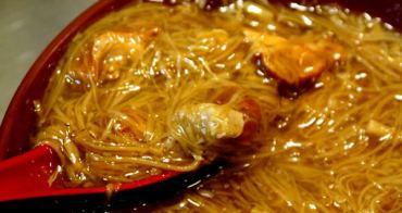 南屯路傳家麵線,辣菜脯很對味!