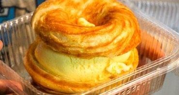 台中西屯,逢甲銅板美食~少油少糖用烤的療癒甜甜圈!珍珠奶茶奶香帶著甜,激推隱藏口味-打拋豬~