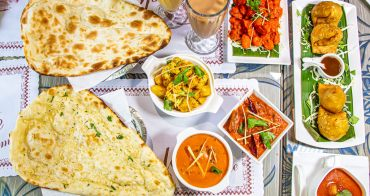 台中西區,斯里頂級印度餐廳,印度主廚坐鎮,道地的印度菜來這吃。