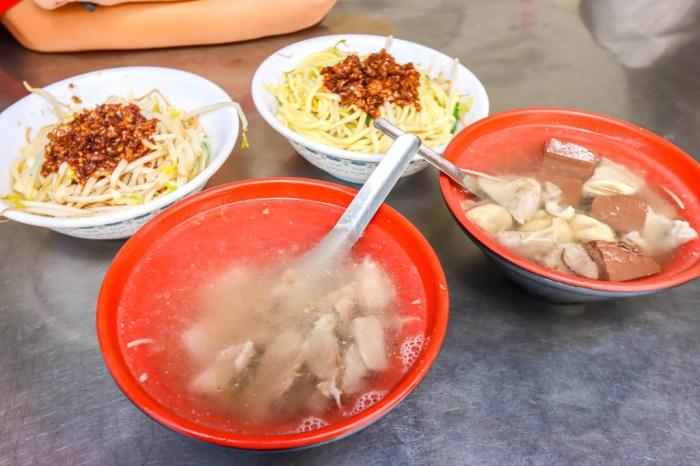 台中烏日,秀妹小吃~市場內的古早味麵食館。