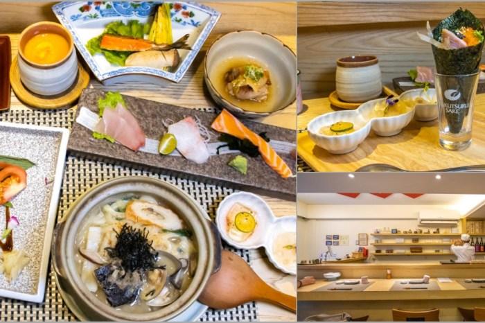 台中西區,隱身向上市場裡的無菜單日式料理-和食望月。