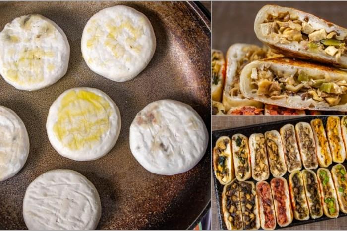 宅配美食,廚君蔬食餡餅,口味多元的創意餡餅,簡單好料理。