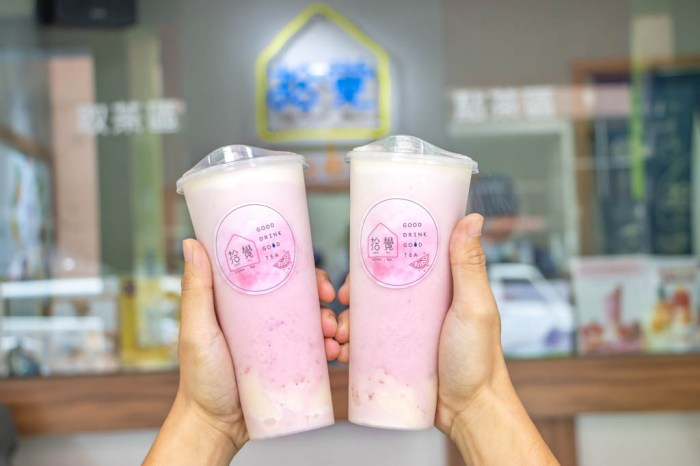 台中南區,粉色漸層的【草莓焦糖布丁芝芝】來報到,拾覺細做輕飲~
