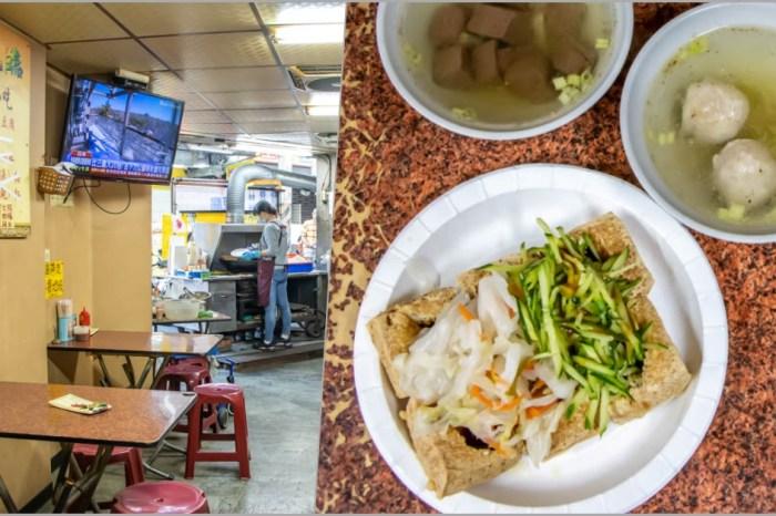 台中西屯,逢甲旺伯臭豆腐,口感較酥~巷弄裡的傳統美味。