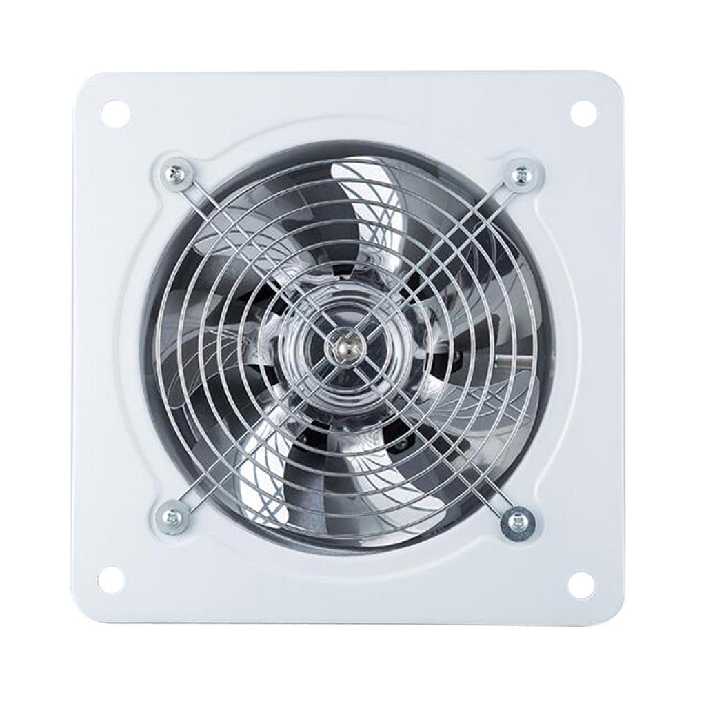 6inch 40w inline duct pipe booster fan ventilation exhaust air blower white