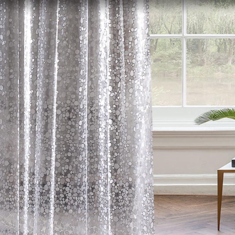 shower curtain mosaic pebble hanging curtain bathroom door curtain waterproof