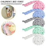 Newborn Baby Bed Bumper Pure Weaving Plush Knot Crib Bumper Kids Bed Baby Cot Protector Baby Room Buy At A Low Prices On Joom E Commerce Platform