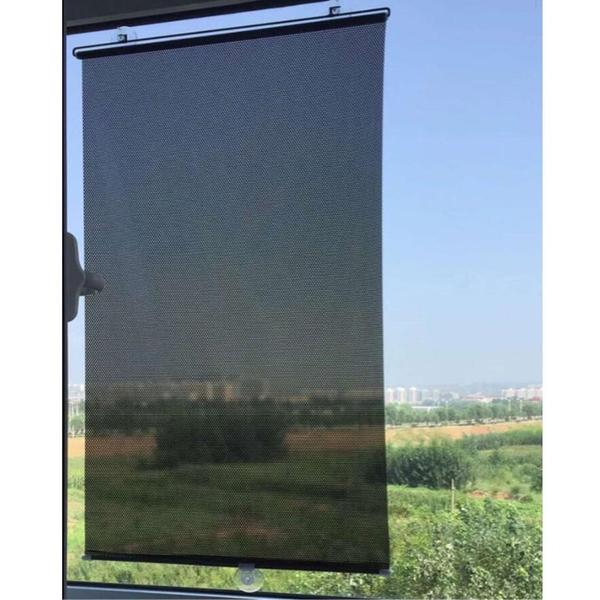 1pcs balcony suction cup sunshade lightweight anywhere temporary blinds door drape blackout curtain