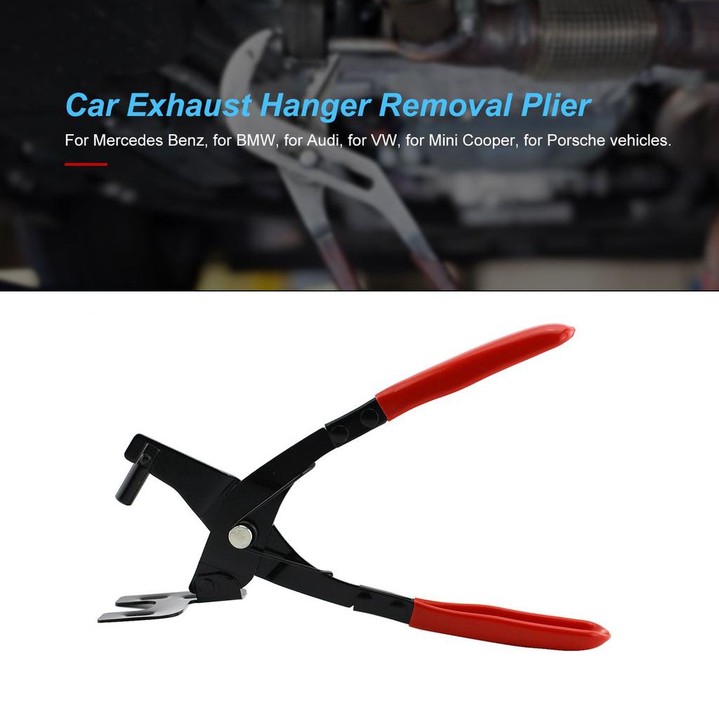 car exhaust hanger removal plier car exhaust rubber pad plier puller tool